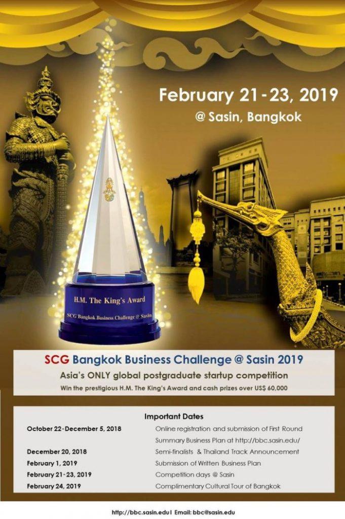 The SCG Bangkok Business Challenge @ Sasin 2019 - EFMD Global blog