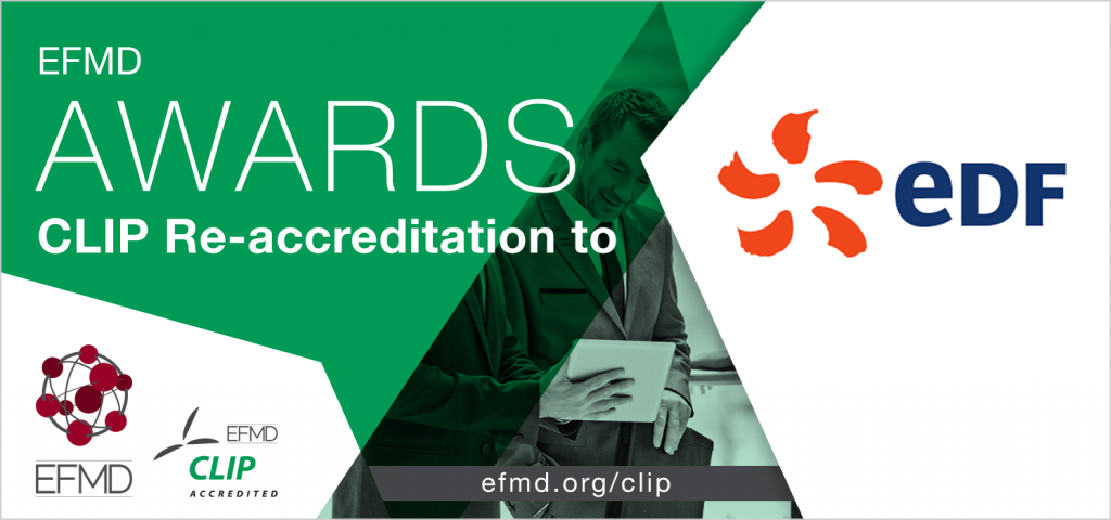 EDF CLIP re-accreditation