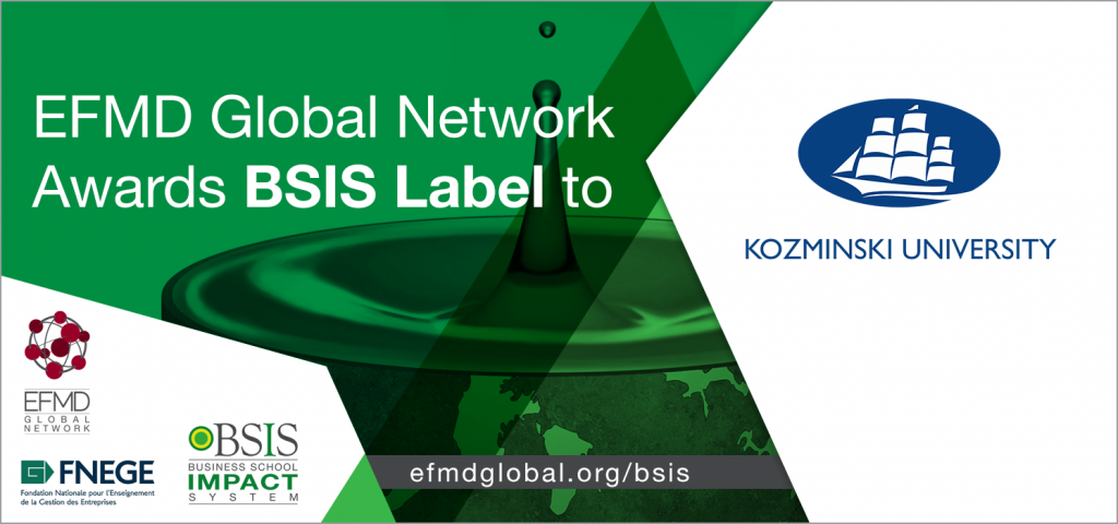 EFMD_Global-Congratulation_BSIS-blog banner-2020_Kozminski