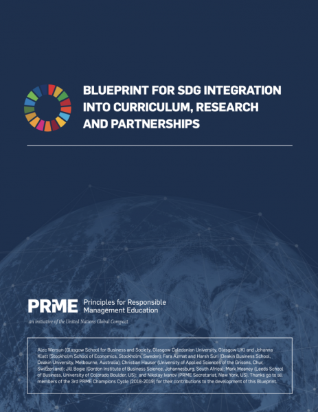 Blueprint for SDG integration