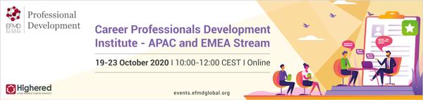 Career Professionals Dvelopment Institute APAC and EMEA stream