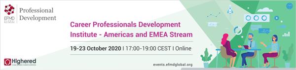 Career Professionals Development Institute - Americas and EMEA stream