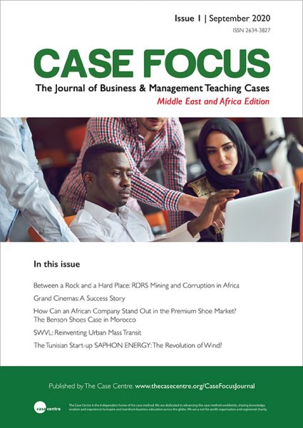 Case Focus journal, issue 1 front cover