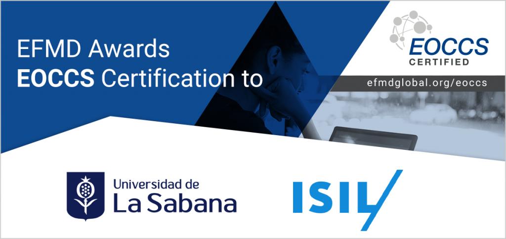 EOCCS certification Uni Sabana + ISIL