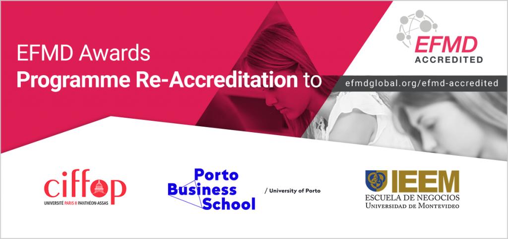 EFMD Accredited Congrats_IEEM_CIFFOP_Porto