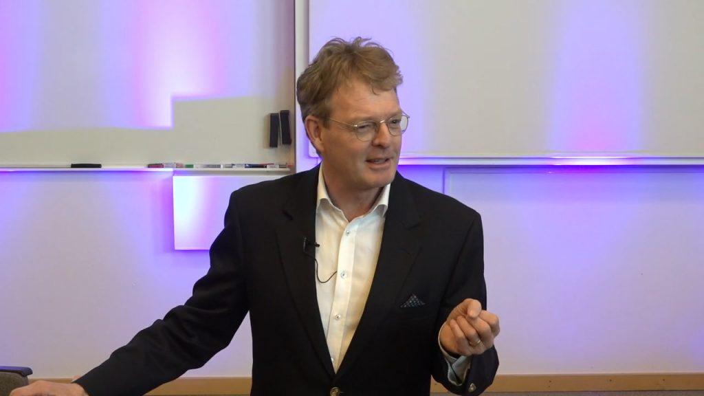 Mats Urde teaching