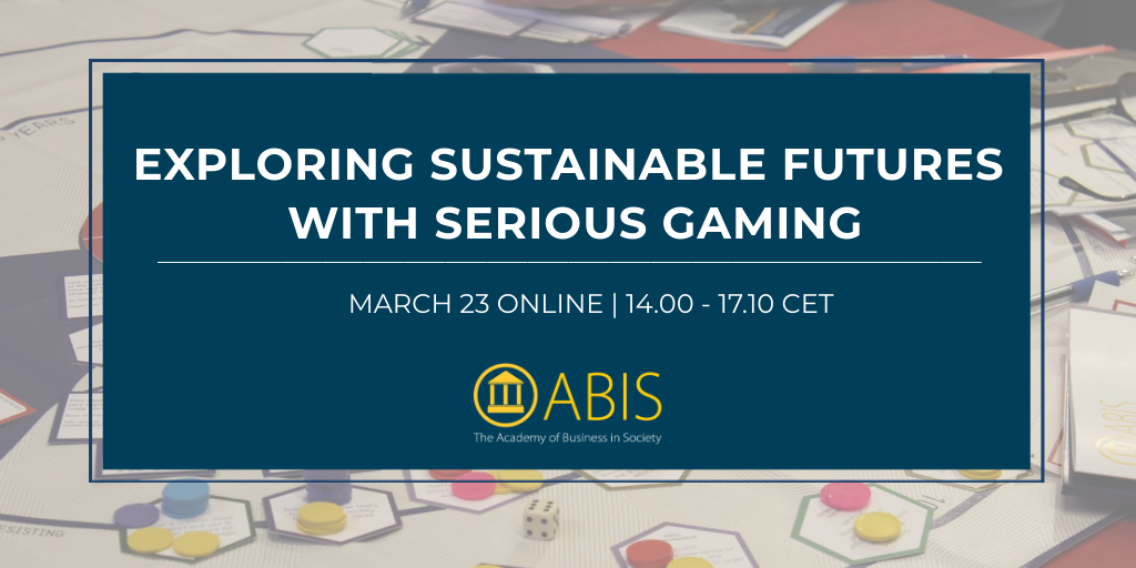 Exploring Sustainable Futures with Serious Gaming