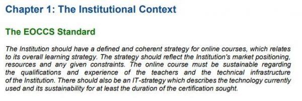 EOCCS Chapter 1 standard